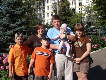 Sergei, Svetlana, and Family